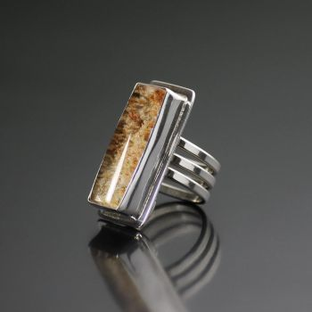 Lodalite Quartz Wrap Ring by kimistry3