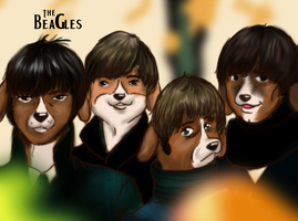 The Beagles for Sale by ChristianKitsune