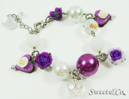 Lover Heart Chocolate Bracelet by SweetandCo