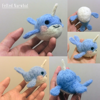 Narwhal by Chouxpuff