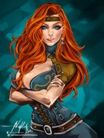 Commission: Astriyah Rose by Hassly