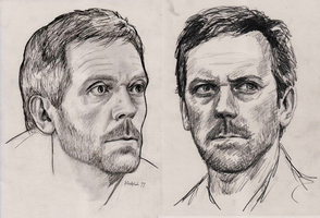 2011 Hugh Laurie pencil by harbek