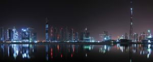 Business Bay and Burj Khalifa by VerticalDubai