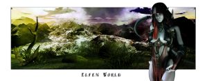 Elfen World the Dark Site by goor