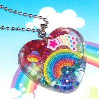 Life is Like a Rainbow Pendant by bapity88