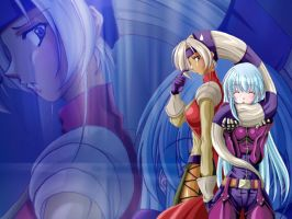 Kula Diamond and Foxy by nitetek