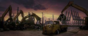 scrapyard pickup by Danwhitedesigns