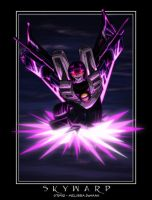 Skywarp - death from above by WaywardInsecticon