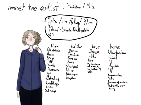 meet the artist meme by MizuoHektoreg