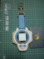 Digimon Tamers Rika's digivice by kymerazero