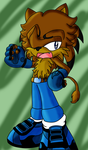 GREG THE LION REQUEST by Sancosity-The-Hybrid