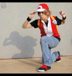 PKMN: Trainer Red by maronnecruz