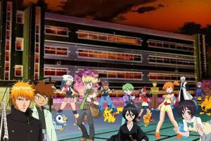 bleach and pokemon academy 2 by laila549