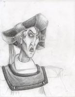 Arch deacon Frollo by rebellion