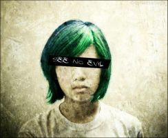 See No Evil by qylie