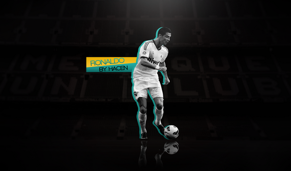 Cristiano Ronaldo Background by Hacen13