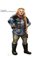 Tales of Arcana, Female Dwarf by MiguelRegodon