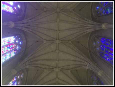 Chapel Ceiling by WVUARTIST