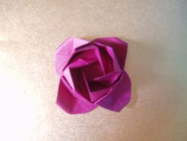 Origami Rose by NordyFox