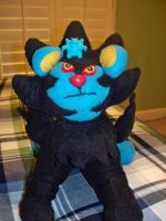 Luxray Plush - Not to Scale :D by mlsterben