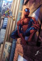 The Amazing Spiderman by joingaramo17