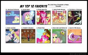 My Top 10 Favorite MLP:FiM Episodes by FaithFirefly