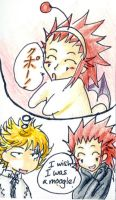 Axel wants to be... by imabubble