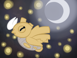 Day 23: Favorite Pokemon Design (Shedinja) by Kiki-Bunni