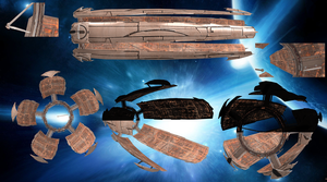 Citadel ME3 with bones for XNALara V.:2.0 by Melllin