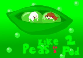 Like Two Peas In A Pod by SupremelyEvilCookie