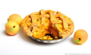 Miniature Peach Pie by Bon-AppetEats