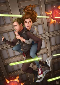 Fitzsimmons - Space Rollerblades by eclecticmuses