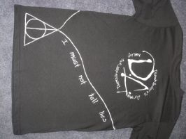 Harry Potter T Shirt front by GreenSillyMonkey