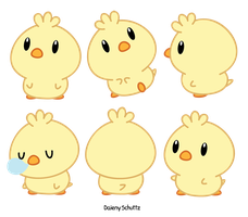 Chibi Chick by Daieny