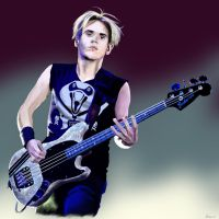 Mikey Way by Rock-n-Roll-Tragedy
