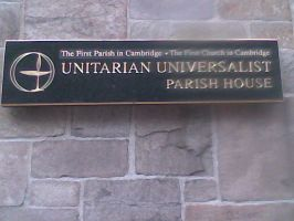 UU Cambridge First Parish Sign by Flaherty56
