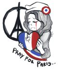 Pray For Paris by sofia-1989