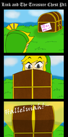Link and the Treasure Chest 1 by BlazingGanondorf