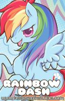 MLP: Rainbow Dash by MoogleGurl