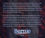 My Thoughts on Bernie Sanders by martinemes