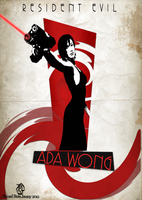 ADA WONG FAN ART by zxgame