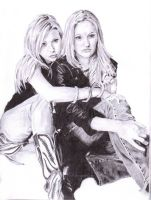 Aly and Aj by yib91