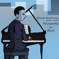 Gershwin in Blue by aftertaster7