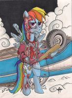Thir13en Ghosts MLP - The Torn Prince by devilsreject493