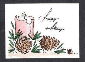 Seasonal Greeting Card Designs No. 6 by lawyersloveandbones