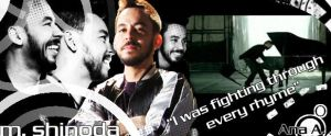 We Made It - Shinoda signature by linkinparkfan4ever