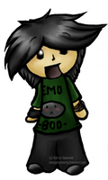 Boo The Emo Whore by snoopythesmarty