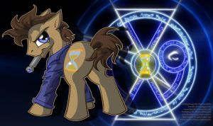 Photoshop/playmat 9 Doctor Whooves/ Hooves by DarkmistRD