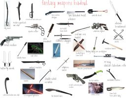 Fantsy Weapon Load Out by cursedironfist7