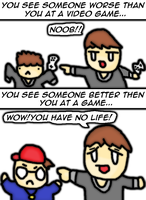 something about gamers... by thegamingdrawer